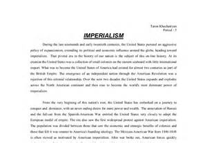Anti American Imperialism Essays by American Expansion And Imperialism A Level History Marked By Teachers