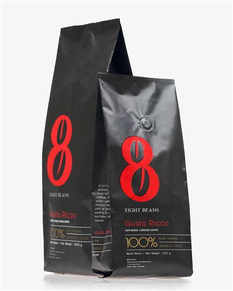 8 Beans Gusto Delicato Coffee Beans 1kg 8 beans coffee victo oro prima