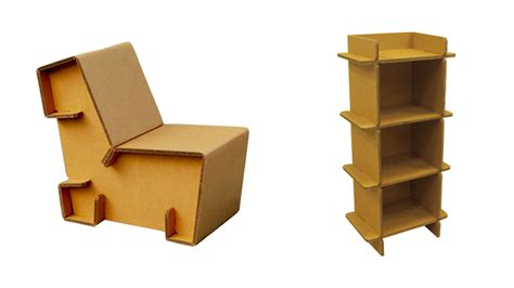 Refoldable Cardboard Furniture Makes It Cheap And Easy To