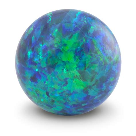 Opal Green sea blue opal