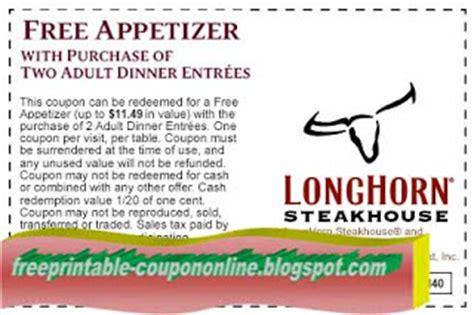 Longhorn Steakhouse Gift Card Deals - printable coupons 2018 longhorn steakhouse coupons