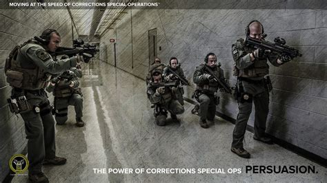 new tactical team patrolling prison raises concerns by