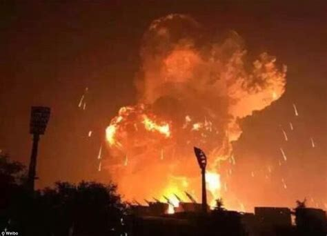film of china explosion was stored cyanide to blame for tianjin warehouse