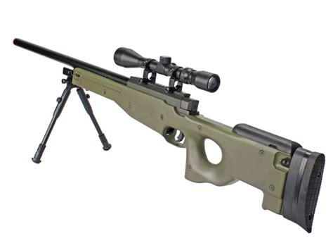 Jual Airsoft Gun Well L96 Well L96 Mb01 Awp Airsoft Sniper Rifle W 3 9x40 Scope