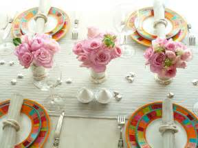 Spring Table Decorations by Table De France Spring Table Decoration