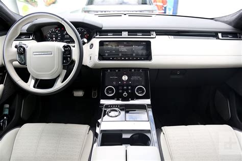 velar land rover interior 2018 land rover range rover velar first drive review