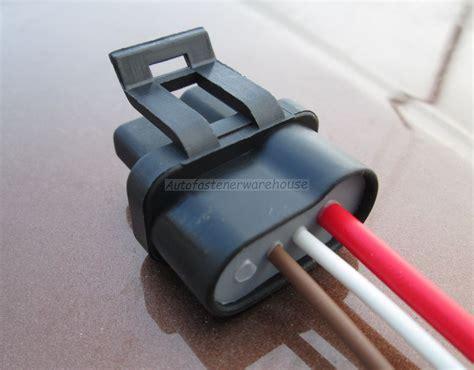 3 wire connector chevy corvette camaro firebird alternator repair harness