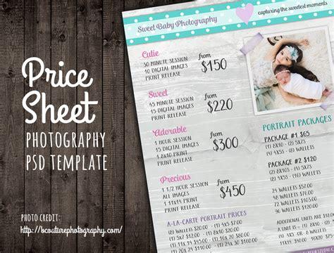 Modern Photography Price List Template Deals Infoparrot Photography Price List Template