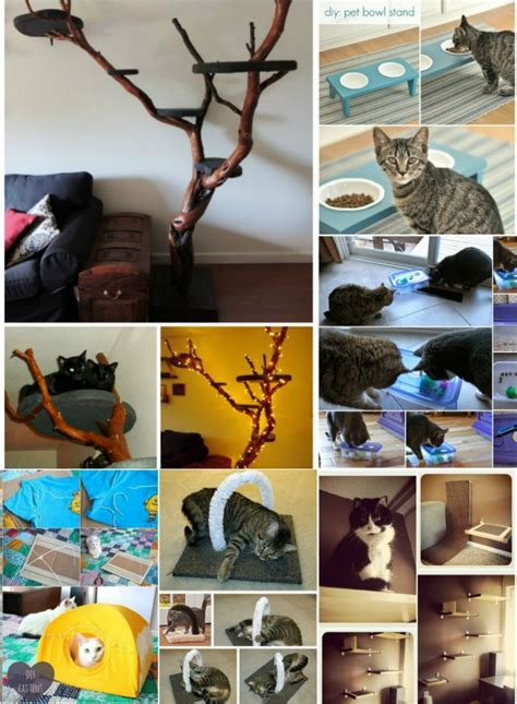 diy cat crafts 20 purrfect diy projects for cat owners page 2 of 2