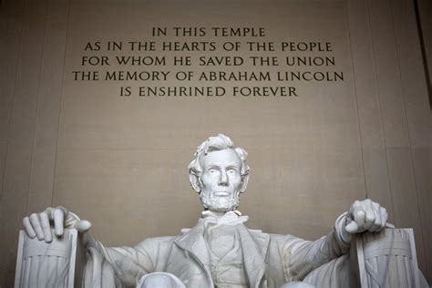 president lincoln memorial abraham lincoln would recognized the con