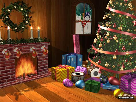 christmas scene christmas wallpaper 2892971 fanpop