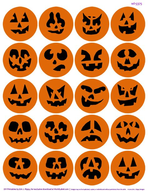printable stickers for halloween bump in the night halloween printables worldlabel blog