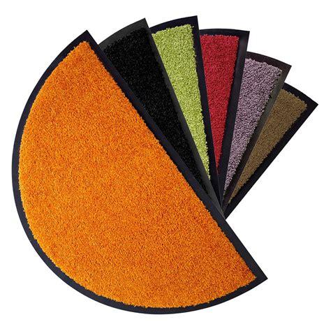 teppich halbrund schmutzfangmatte halbrund proper tex 6 versch farben
