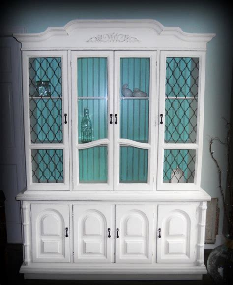 white china cabinet white china hutch painted pearls