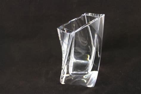 Kosta Boda Vase by Kosta Boda Goran Warff Vase Square Twisted 48229