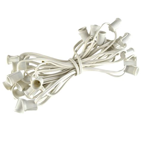 25 c9 stringer light strand white wire