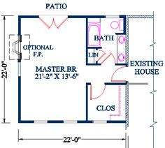 30 x 18 master bedroom plans bathroom to a master 1000 images about new master bedroom addition on