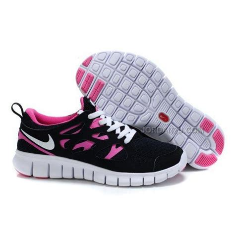 free run nike womens shoes nike free run 2 womens running shoes black pink on sale
