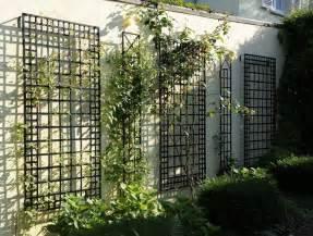 metal garden wall trellis wall trellis treillage in garden