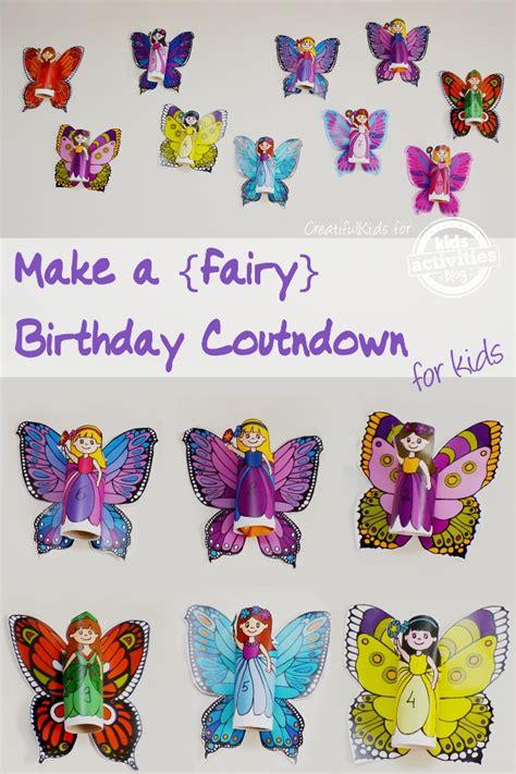 fun birthday countdown   released  kids