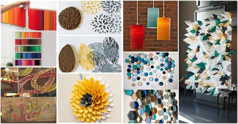 diy decorations 13 fantastic diy wall decor crafts