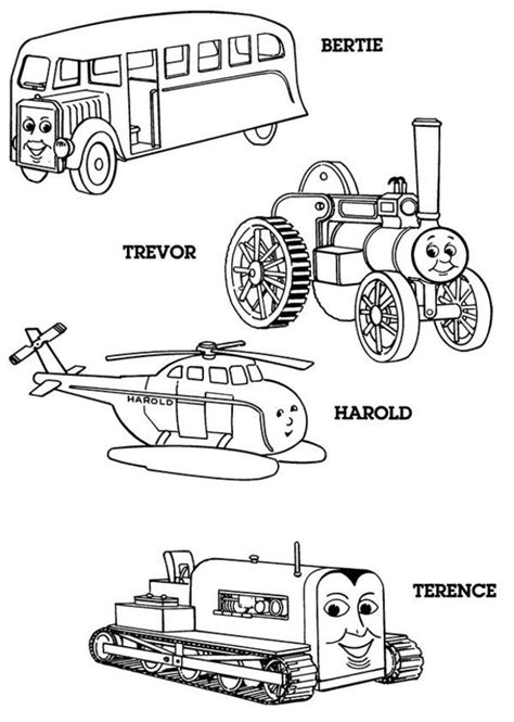 Thomas The Tank Engine Coloring Pages 18 Coloring Kids Tank Engine Colouring Pages