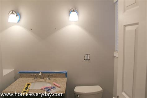 can you use satin paint in a bathroom stripes bathroom reveal home everyday