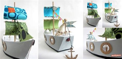Handmade Paper Pirate Ship Folksy - 54 best images about corsaires et flibustiers on