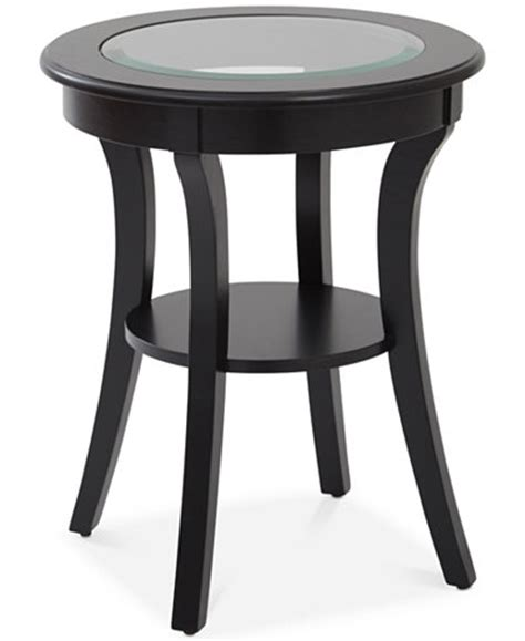 round glass top accent table rankin round glass top accent table quick ship