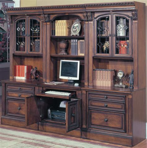 home office suite furniture set house huntington home office suite 6pc modular
