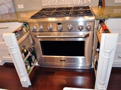 pull  spice storage drawers  kitchen hgtv