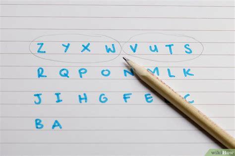 lettere al contrario come imparare l alfabeto al contrario 6 passaggi