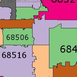 lincoln nebraska zip code map omaha ne zip code map my