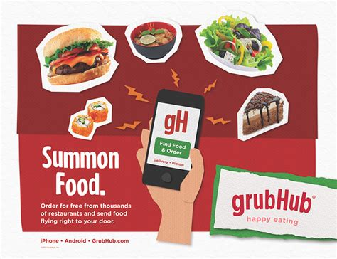 Grubhub E Gift Card - 5 best food delivery app for android for 2018 that works in most major cities
