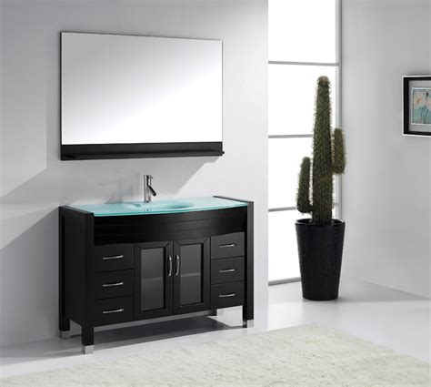 48 Inch Bathroom Vanity by 48 Inch Single Sink Bathroom Vanity By Virtu Usa
