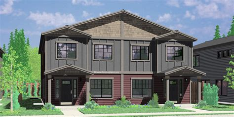 narrow lot duplex house plans narrow lot duplex house plans narrow and zero lot line