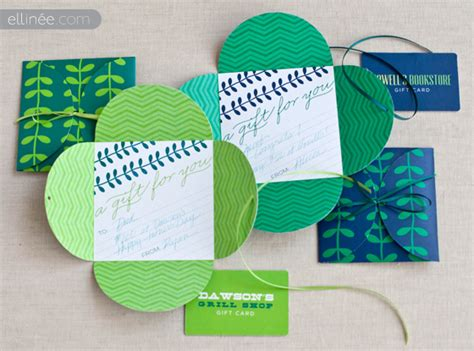 Gift Card Envelopes Diy - craftionary