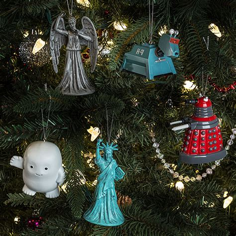 doctor who k9 ornament thinkgeek