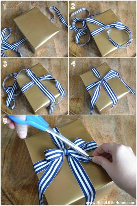 How To Make A Bow With Wrapping Paper - present wrapping tips 3 easy gift wrap ideas