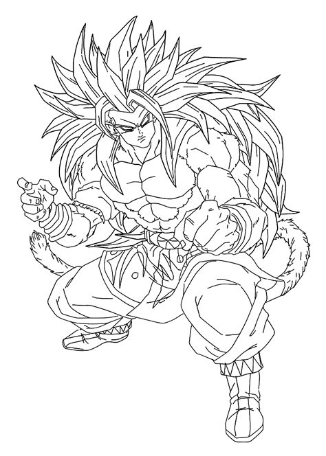 printable coloring pages dragon ball z goku dragon ball z anime coloring pages for kids