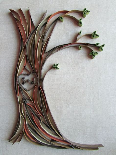 paper quilling tree tutorial best 25 paper quilling patterns ideas on pinterest