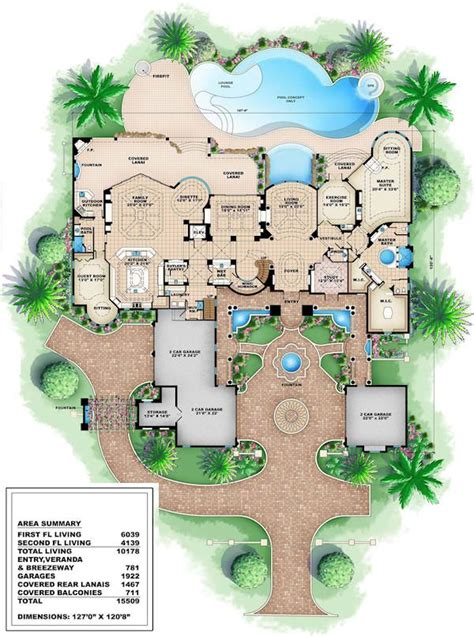 best 25 mansion floor plans ideas on house