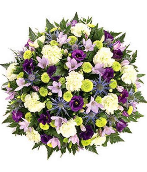 coussin de fleurs pour deuil livraison fleurs deuil coussin blanc vert violet pour obs 232 ques