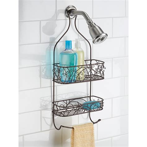 bathroom caddies towel bar shower caddy in shower caddies