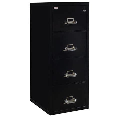 Korden Used Legal Sized Black 4 Drawer Vertical File Vertical File Cabinet 4 Drawer