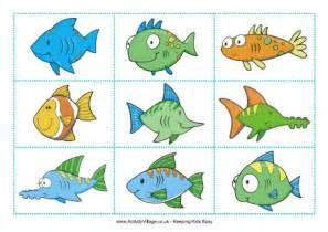 fish matching game