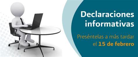 declaracion informativa multiple 2016 declaraci 243 n informativa m 250 ltiple 2015 afin