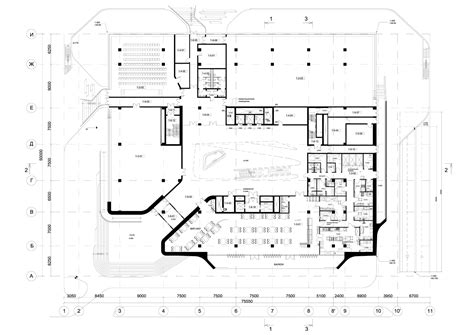 office building floor plan gallery of dominion office building zaha hadid