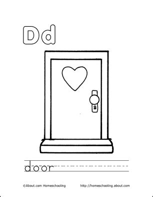 7 fabulous front door colors page 3 of 8 picky stitch letter d coloring book free printable pages