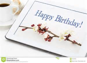happy birthday greeting card stock photo image 69307604